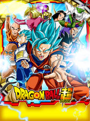 Poster Universo 7 Dragon Ball Super by jaredsongohan