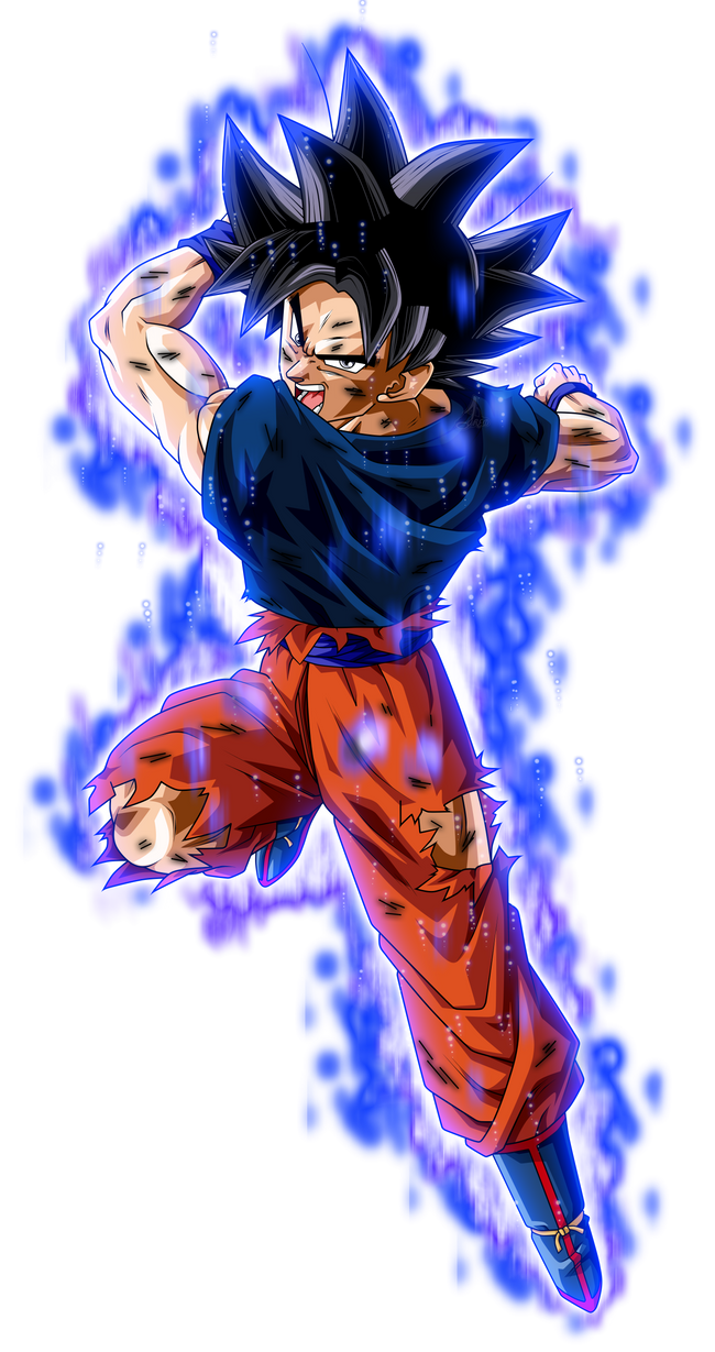 Son Goku Ultra Instinto herido KII by jaredsongohan on ...