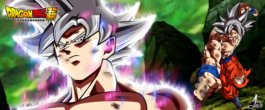 Son Goku Ultra Instinto Dominado L by jaredsongohan