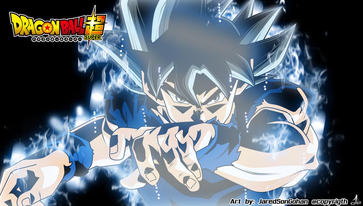 Ultra Instinto Incompleto Son Goku by jaredsongohan