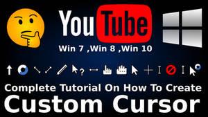 Complete Tutorial On How To Create A Custom Cursor