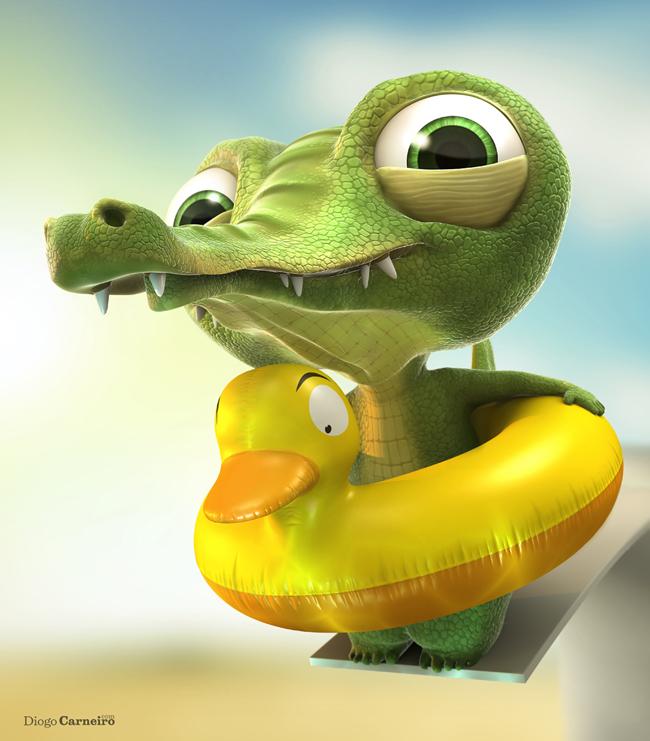 Alligator by diogocarneiro