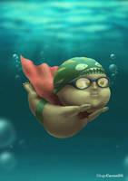 Super Swimmer by diogocarneiro