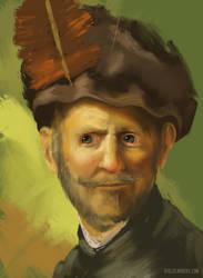 Ipad - Portrait Study by diogocarneiro