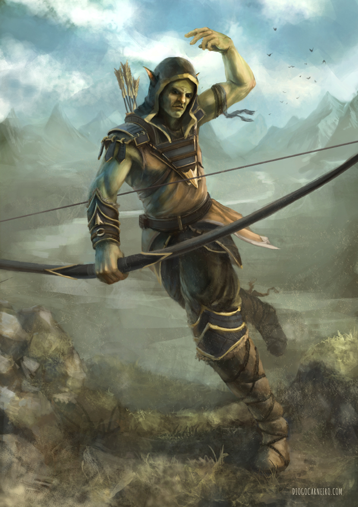 Archer by diogocarneiro