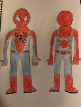 F.L. Spider-man Nano-Tech suit