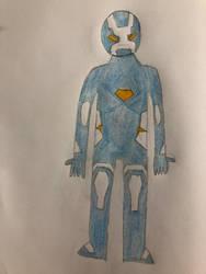 Earth-9903: Iron Man (Arctic Armour)