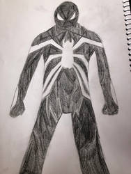 Earth-9903: Symbiote Spider-Man Redesigned