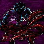 Antisora VS Fourtail Naruto