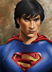 tom welling for superman by daetymn