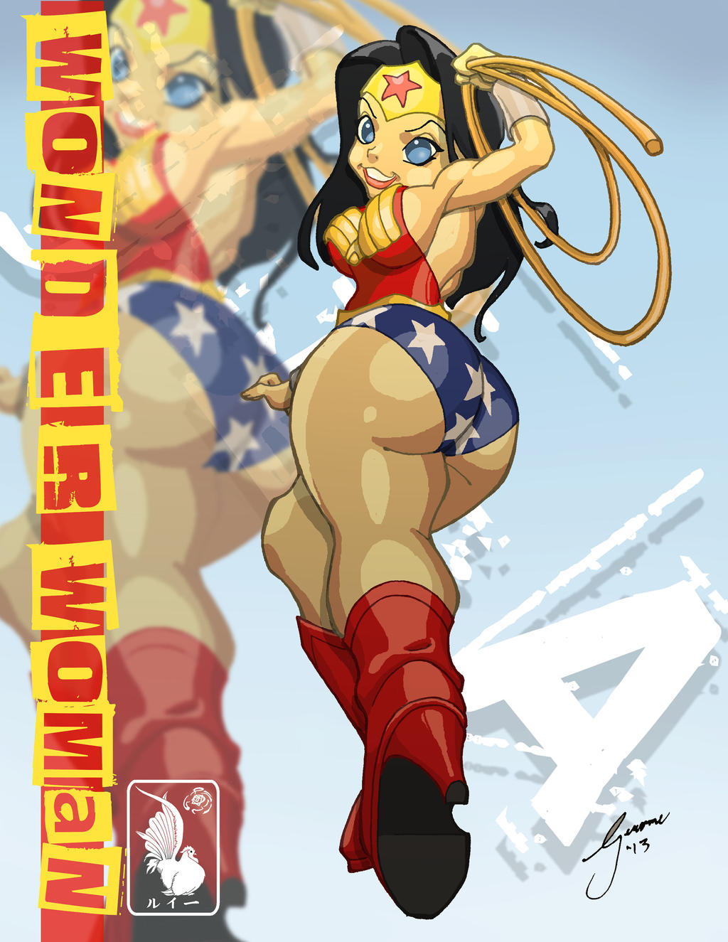 Wonder Woman KUPKAKE STYLE by daetymn