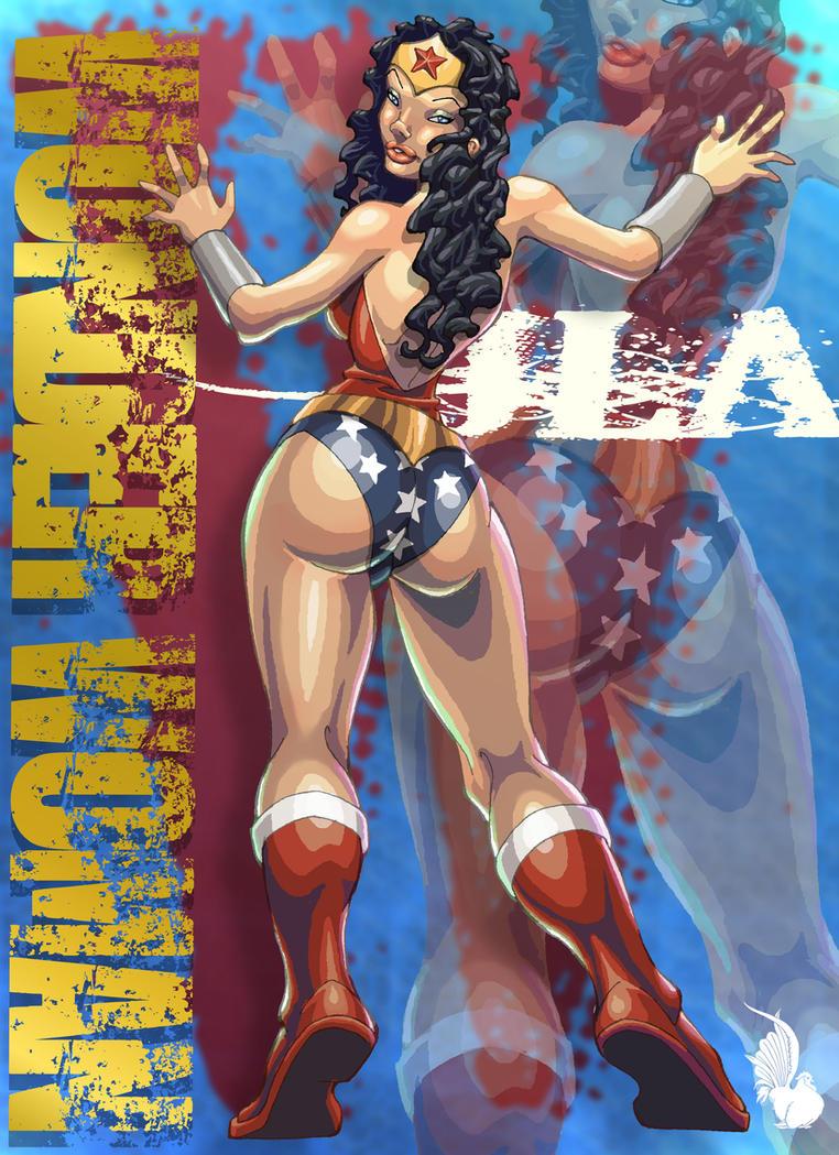 Erotic supergirl