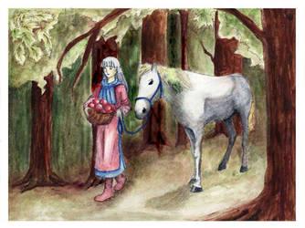 Platina - in the forest by kirschwasser