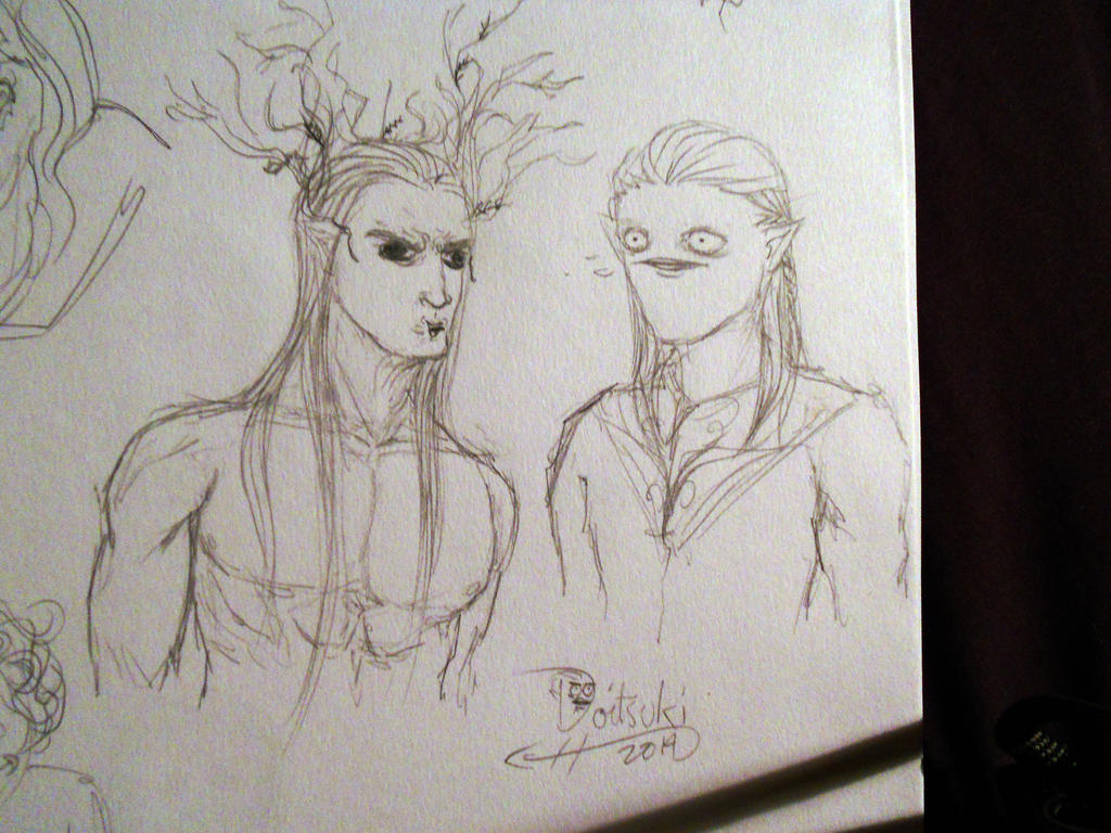 Meanwhile in Mirkwood... by Doitsuki