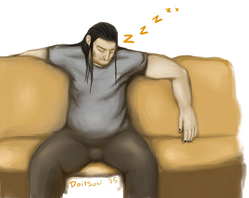 Nathan is Sleeping [Huevember - 5/11/15] by Doitsuki