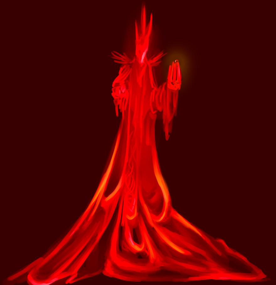 its sauron lel by Doitsuki