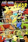 He-Man vs Thor