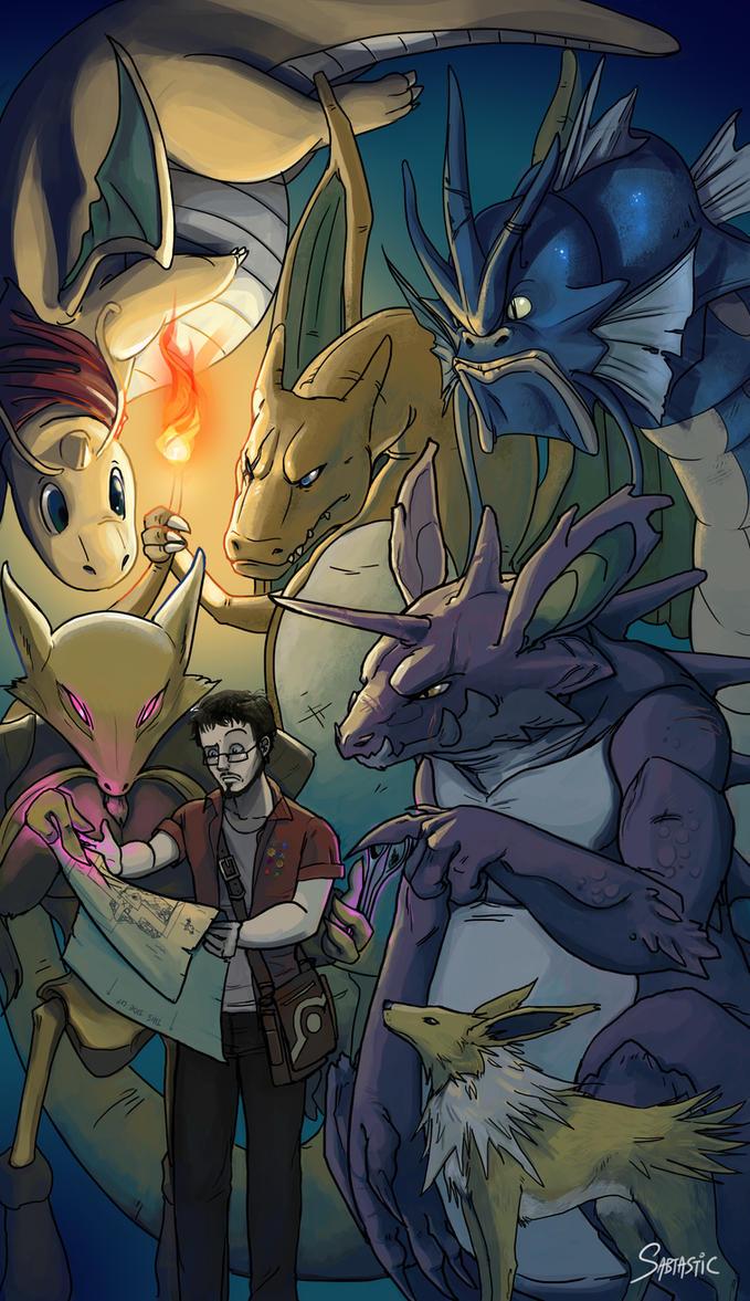 Pokemon: Teamwork by Sabtastic