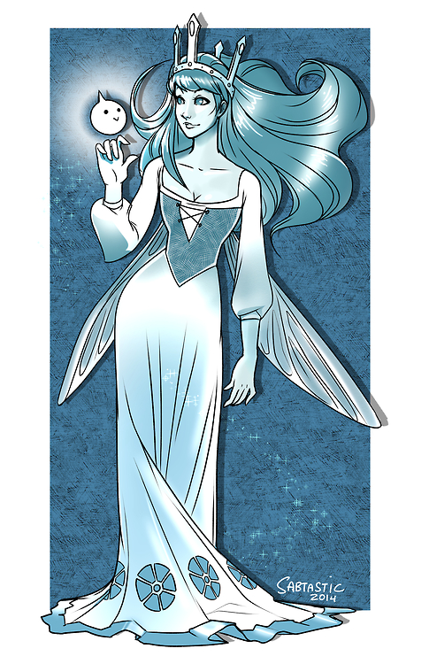 Aurora - Child of Light Commission by Sabtastic