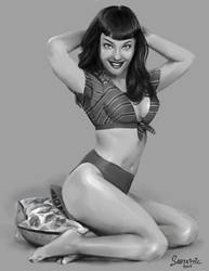 Betty Page Value Study