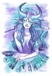 Tarot Card Cigarello Succubus