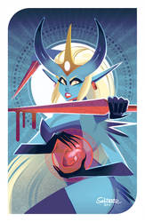 Dragon Age Inspired Demon Girl by Sabtastic