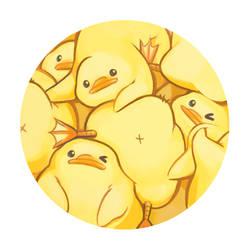Birdblob Pile by Sabtastic