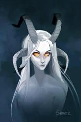 Gray Goat Girl