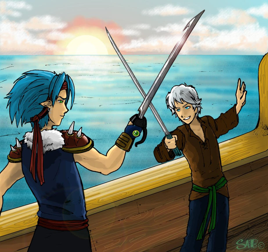 Casual Swordfight by Sabtastic