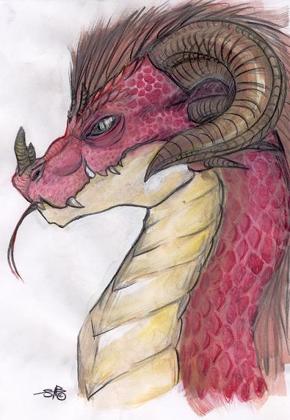 Scweet Dragon by Sabtastic
