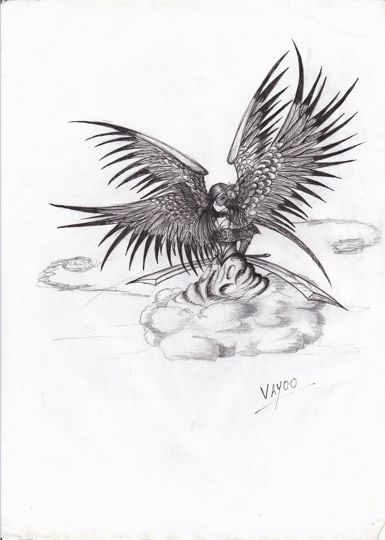 Oracle angel by Vay00