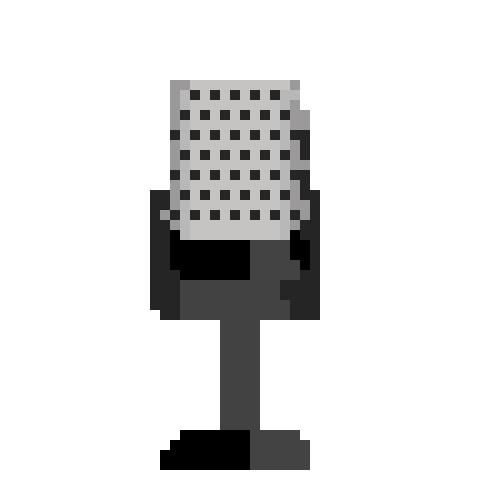 Pixel Studio Mic by CaptainToog