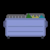 Pixel Dumpster by CaptainToog