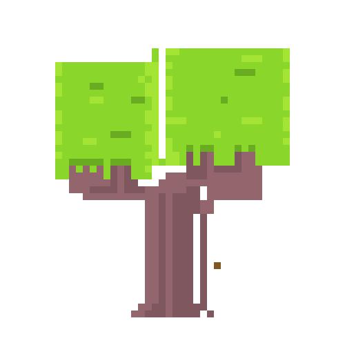 Pixel Tree 4
