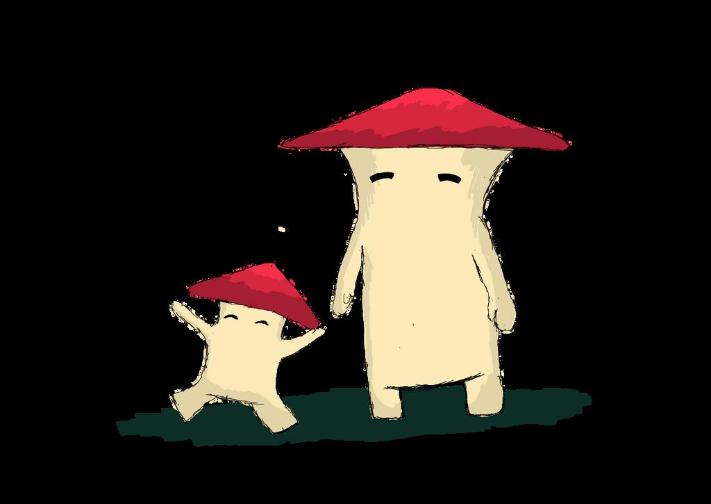 Mushroom People - Dark Souls