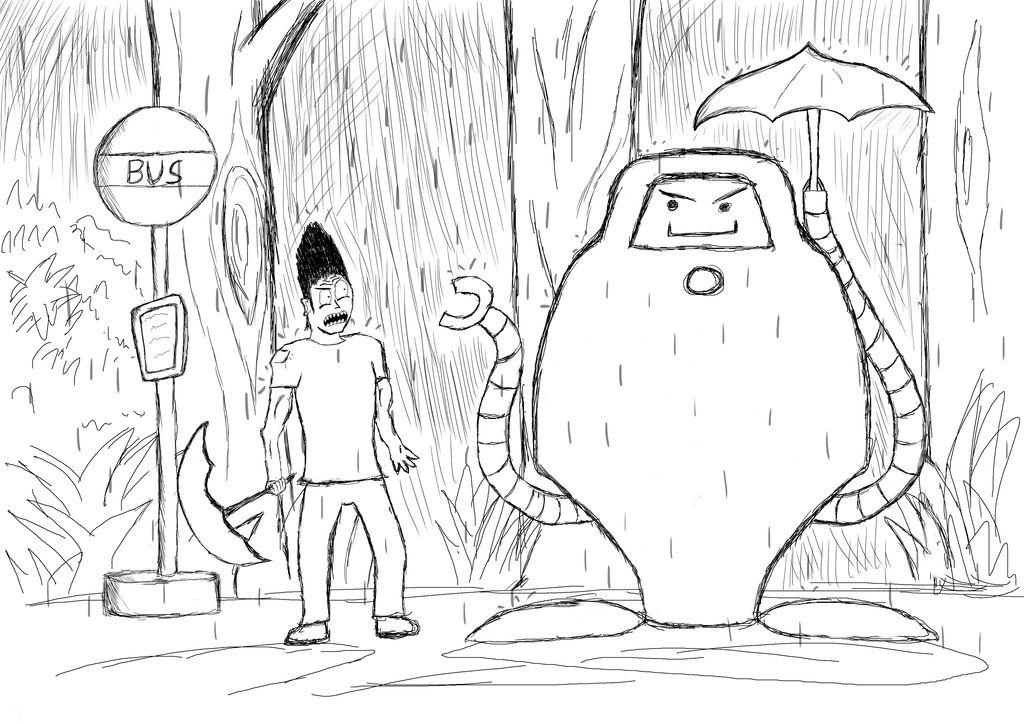 Superjail - Totoro Parody - Jailbot and Jackknife