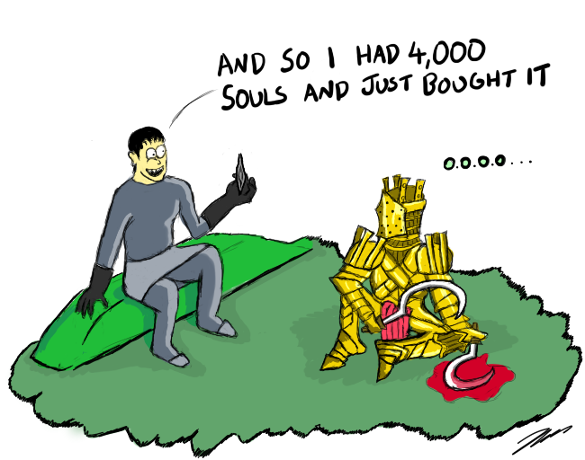 Dark Souls - Lautrac asks about extra humainity by CaptainToog on ...