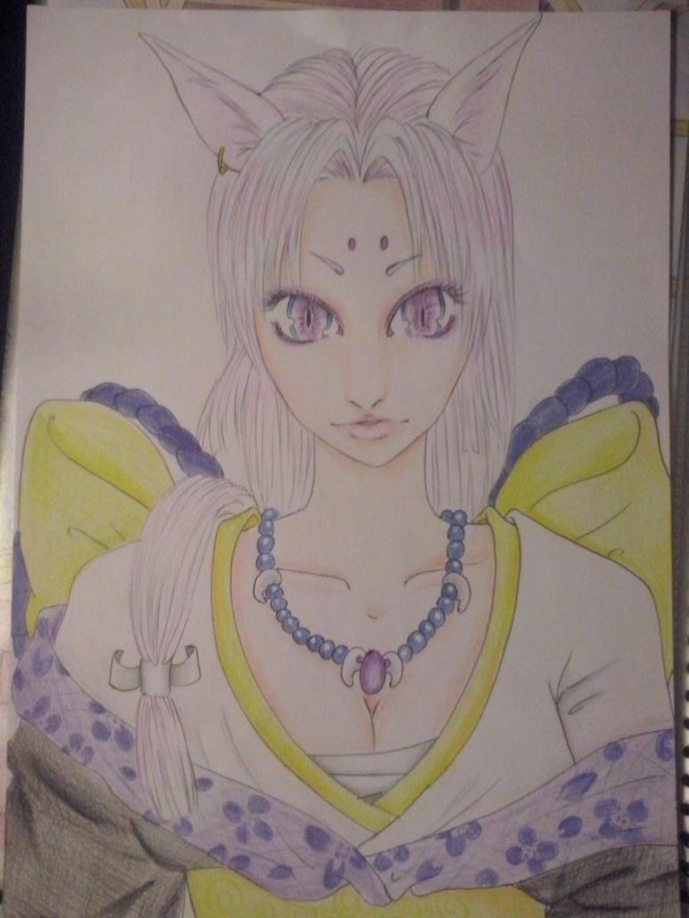 Female Demon Fox by NaiidiiraH