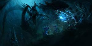 Pronaxians Vs Cave Monster