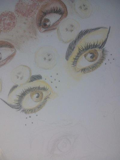 Banana eyes by Dawid1998