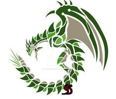 Rathian Circular Emblem
