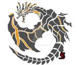 Dire Miralis Circular Emblem