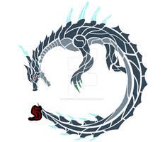 Abyssal Lagiacrus Circular Emblem
