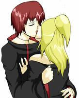 Kiss Me Like This .:-SasoDei-: by Miro-Hitomi