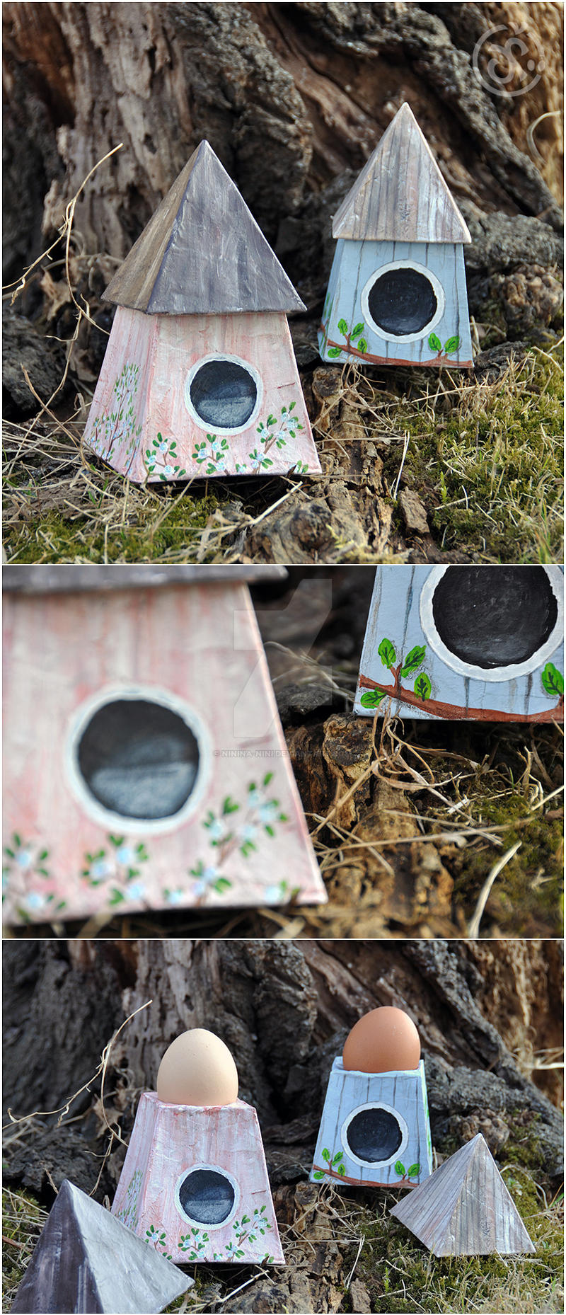 Egg House by Ninina-nini