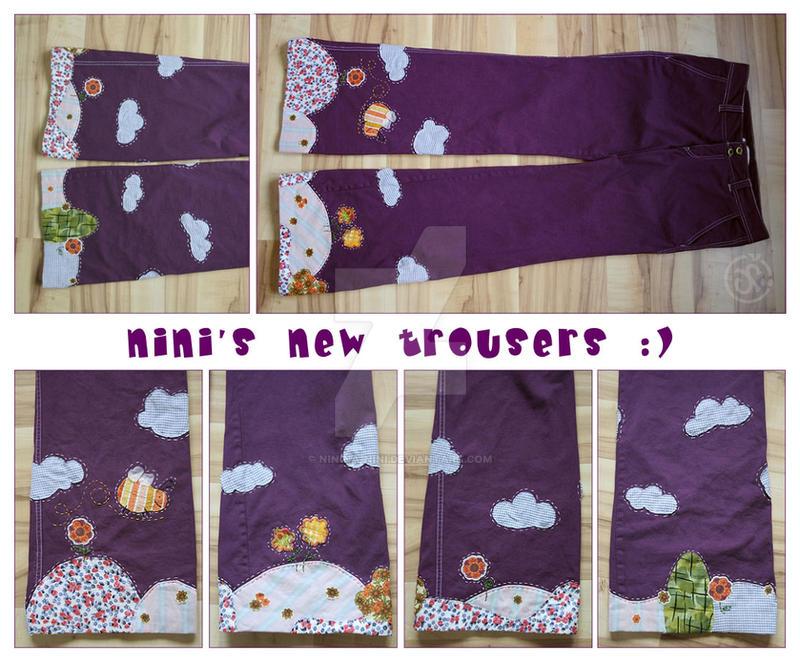 nini's happy trousers by Ninina-nini