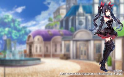 Cyberdimension Neptunia: 4 Goddesses Online by Alphaziel