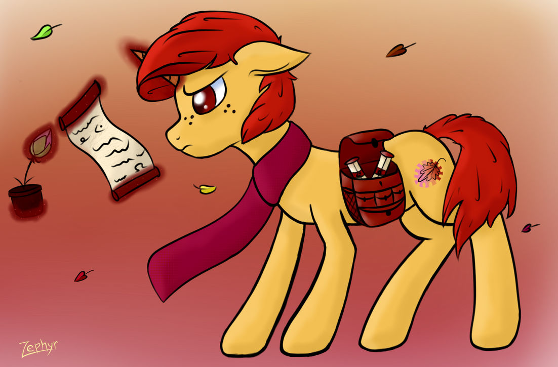 Season's ponies - Autumn Colors