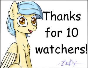 10 Watchers!