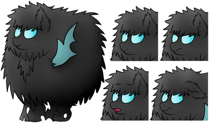 [Commission] #5 - Fluffy changeling